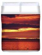 Sunrise Sekiu Washington Duvet Cover