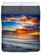 Sunrise Serenades The Beach Duvet Cover