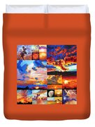 Sunrise Sunset Sunrise Duvet Cover