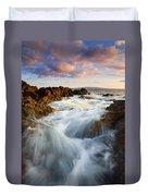 Sunrise Surge Duvet Cover by Mike  Dawson