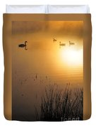 Sunrise Swim Duvet Cover