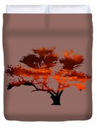 Sunrise Tree 2 Duvet Cover
