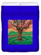 Sunrise Treeair Duvet Cover