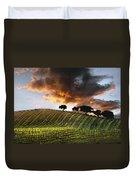 Sunrise Vineyard Duvet Cover
