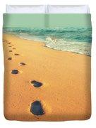 Sunrise Walk Duvet Cover