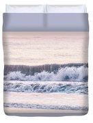 Sunrise Waves  Duvet Cover