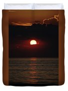 Sunrise Window Path Delray Beach Florida Duvet Cover