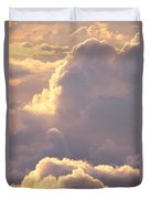 Sunrise With Shadows Duvet Cover