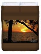 Sunset 2 Duvet Cover by Megan Cohen