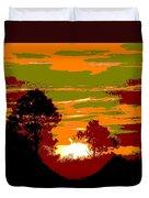 Sunset 6 Duvet Cover