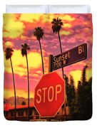 Sunset 7700w Duvet Cover