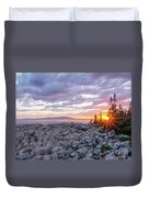 Sunset Acdia National Park  Duvet Cover