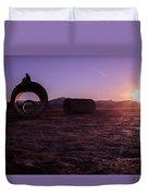 Sunset Admiration Duvet Cover