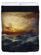 Sunset After A Storm Duvet Cover