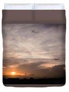 Sunset Ahuachapan 14 Duvet Cover