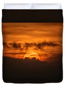 Sunset Ahuachapan 33 Duvet Cover