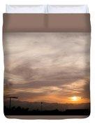 Sunset Ahuachapan 7 Duvet Cover