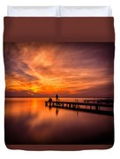 Sunset Albufera 2 Duvet Cover