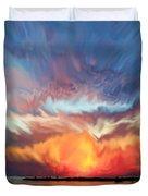 Sunset Art Landscape Duvet Cover