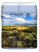 Sunset At Jackson Hole Duvet Cover
