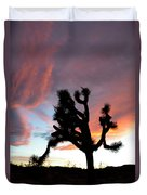 Sunset At Joshua Tree 2 Duvet Cover