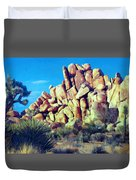 Sunset At Joshua Tree Duvet Cover