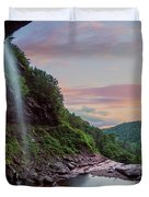 Sunset At Kaaterskill Duvet Cover