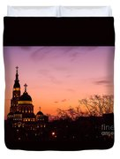 Sunset At Kharkov  Ukraine Duvet Cover