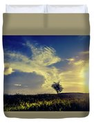 Sunset At Kuru Kuru Duvet Cover