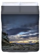 Sunset At Poolburn Reservoir 1 Duvet Cover