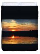 Sunset At Princess Point Duvet Cover
