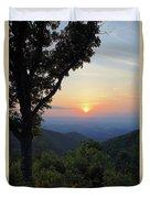 Sunset At Purgatory Mountain Duvet Cover