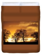 Sunset At Redhill Duvet Cover