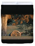 Sunset At Shiloh Duvet Cover
