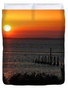 Sunset At St.marks Nwf Duvet Cover