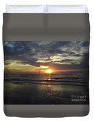 Sunset Beauty At Clearwater Duvet Cover