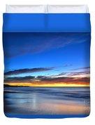 Sunset Blue Duvet Cover