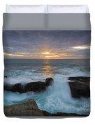 Sunset Breach Duvet Cover