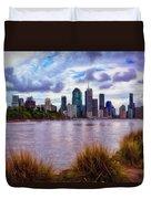 Sunset Brisbane Duvet Cover