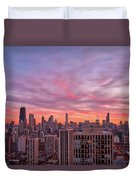 Sunset Burn Duvet Cover