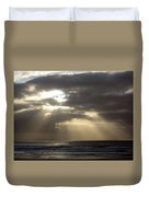 Sunset By The Sea Photograph Duvet Cover