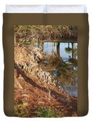 Sunset By The Water Duvet Cover