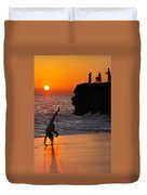 Sunset Cartwheel Duvet Cover