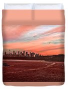 Sunset City Duvet Cover