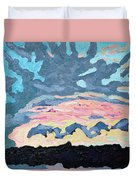 Sunset Cold Front Duvet Cover