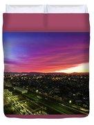 Sunset Colors  Duvet Cover