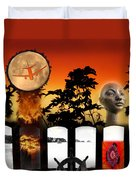 Sunset Composite Duvet Cover