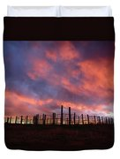 Sunset Corral Duvet Cover