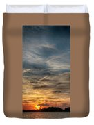 Sunset Creve Coeur Lake St Louis Mo 1x2 Ratio Img_5073 Duvet Cover