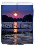 Sunset Cruise Duvet Cover